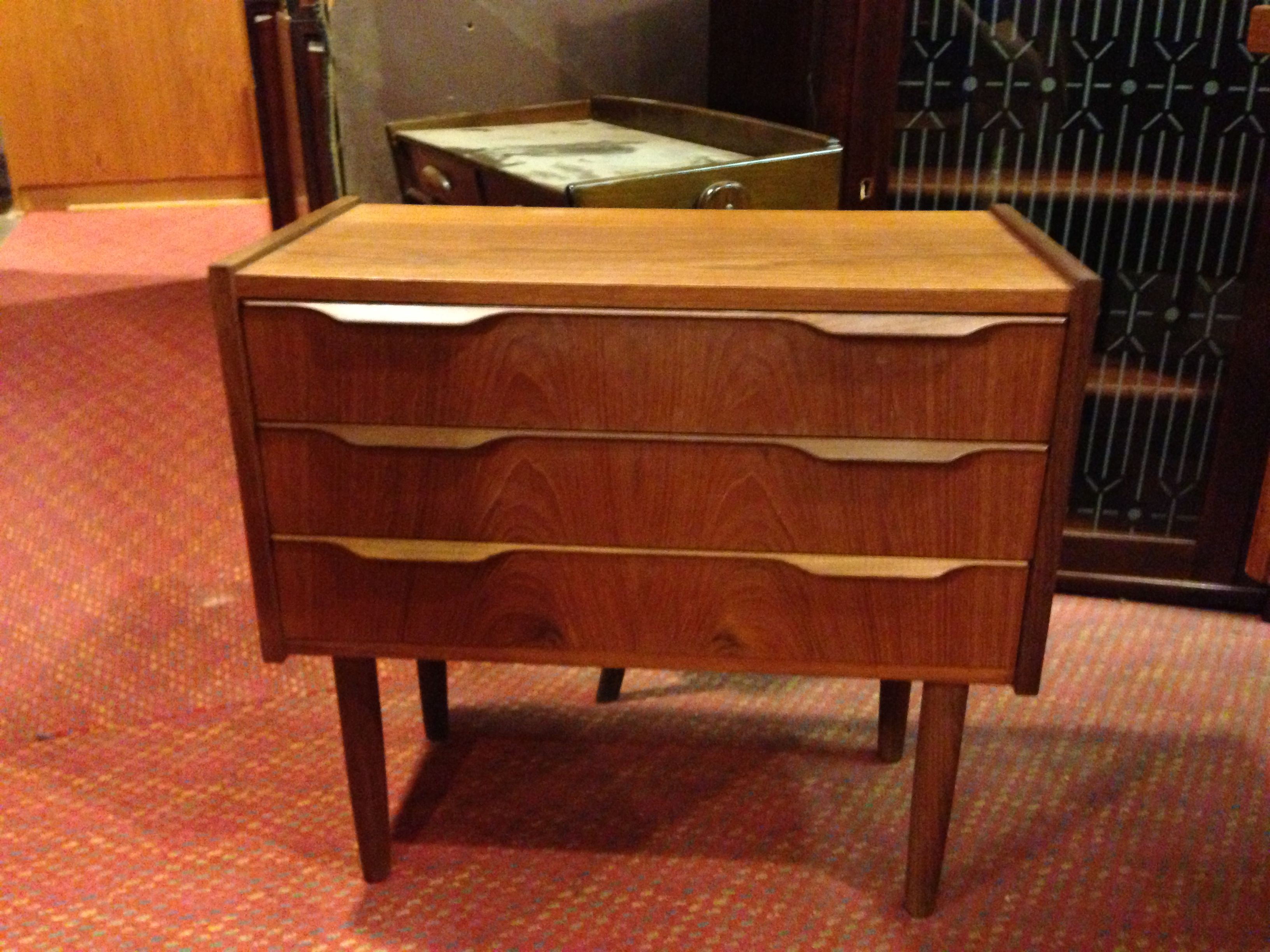 Mini chest of drawers. Living Room side table 23.75w x 12d ...