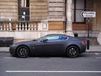 Aston Martin Vantage Black Matte Aston Martin Aston Martin