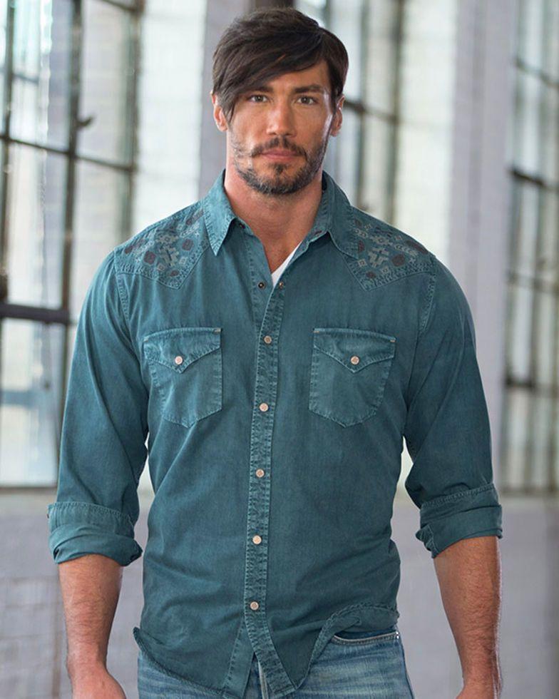 71662abb Ryan Michael Men's Silk Gabardine Shirt in 2019 | clothing | Mens ...