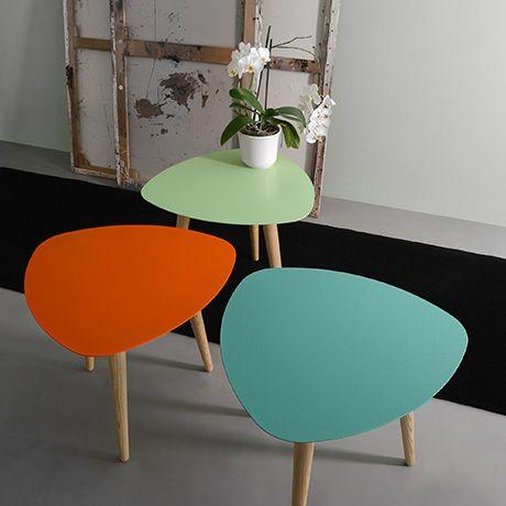 Tische, Sogar, Zeitgenössisches Design, Sammlung, Flowerpower, Skandinavisch,  Niedrigen Tisch, Produkte, In Holz