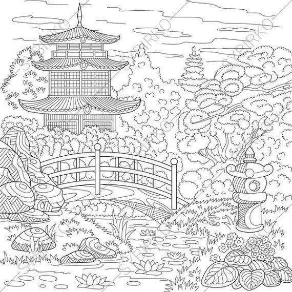 Japanese Fan Japanese Art Japanese Drawings Fan Drawing