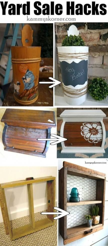 70 best Ideas craft recycled to sell thrift stores