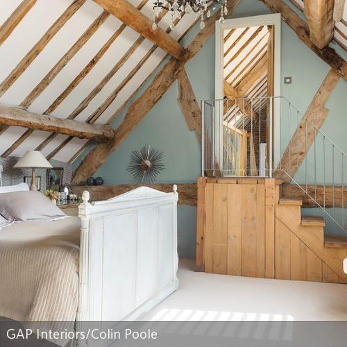 Dachgeschoss Schlafzimmer Design Und Das Beste Von: Schlafzimmer Im Dachgeschoss Eines Fachwerkhauses