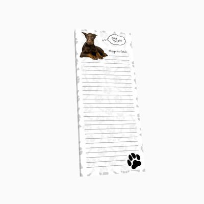 Boxer Dog Pen Replaceable Ballpoint Black Ink Uncropped