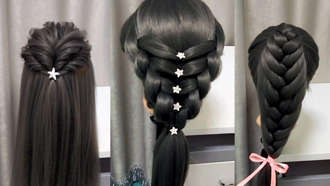 Cute braid back to school hairstyles youtube diyhairstyles diy