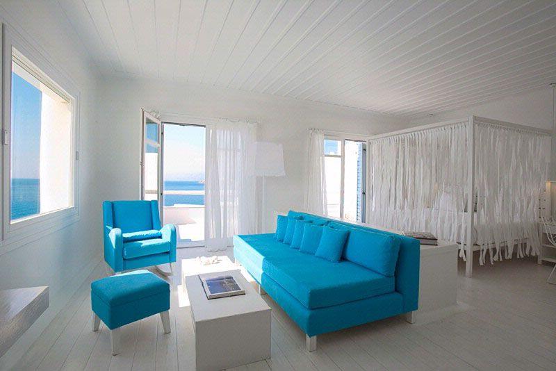 Cavo Tagoo Hotel In Mykonos Greece Interiors