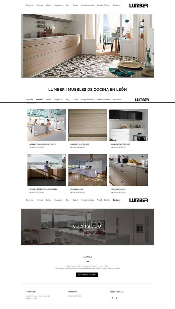 Cocinas En Leon P Gina Web Creada Por Dayvo Sistemas Para La  # Muebles Pagina Web