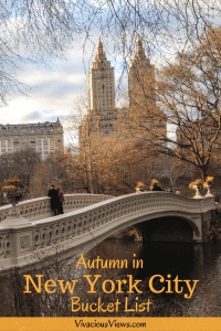 Autumn in New York City Bucket List | Vivacious Views #autumninnewyork