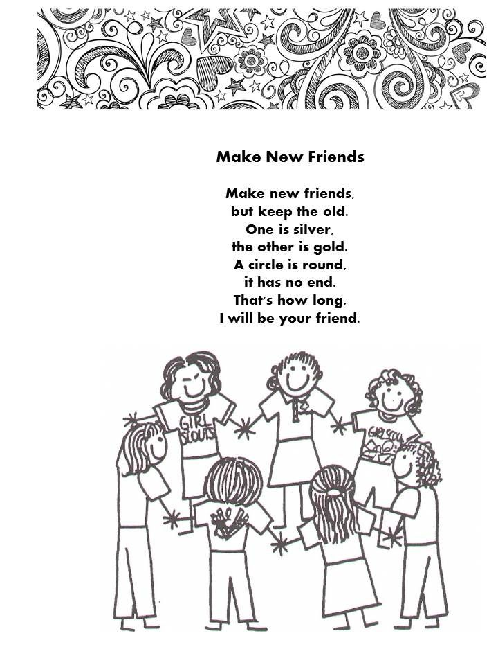 Girl Scout Brownie Troop Memory Book Scrapbook Yearbook