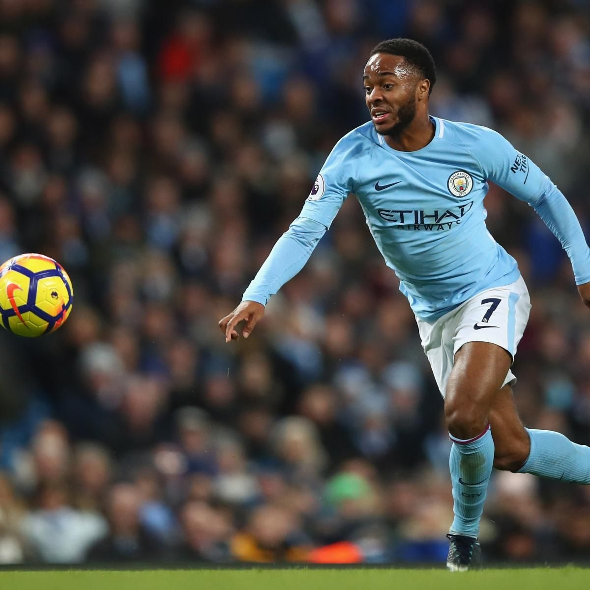Raheem Sterling Contract Reportedly Will Make Him Pl S Top Earner Amid Rumours Manchester City Raheem Sterling Manchester