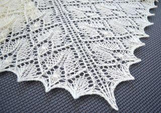 LaceKnit Designs: Pattern: Precious Lace Shawl