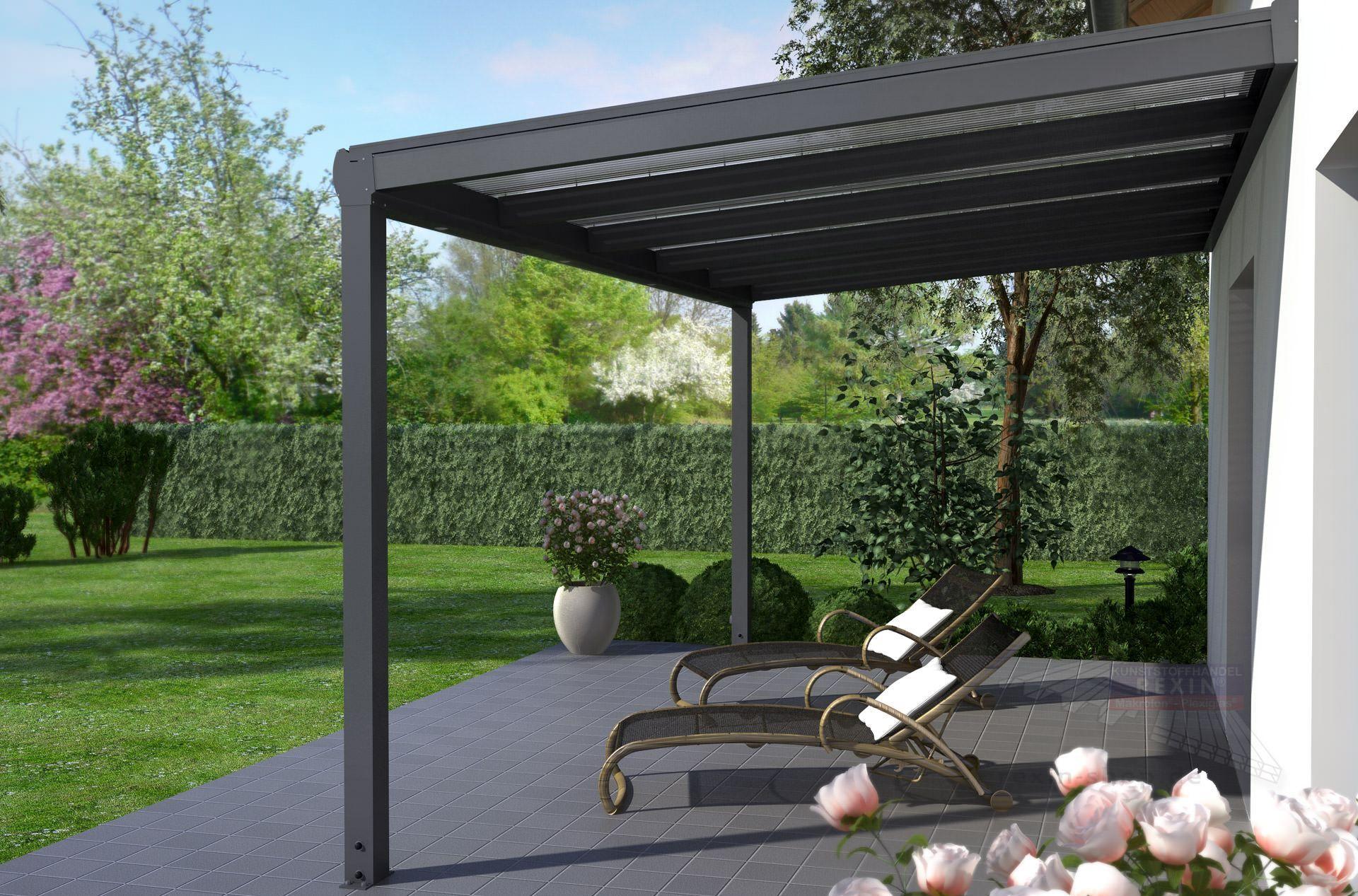 Vintage Terrassen berdachungen aus Holz oder Alu Stegplatten und Plexiglas g nstig kaufen Jetzt den Online