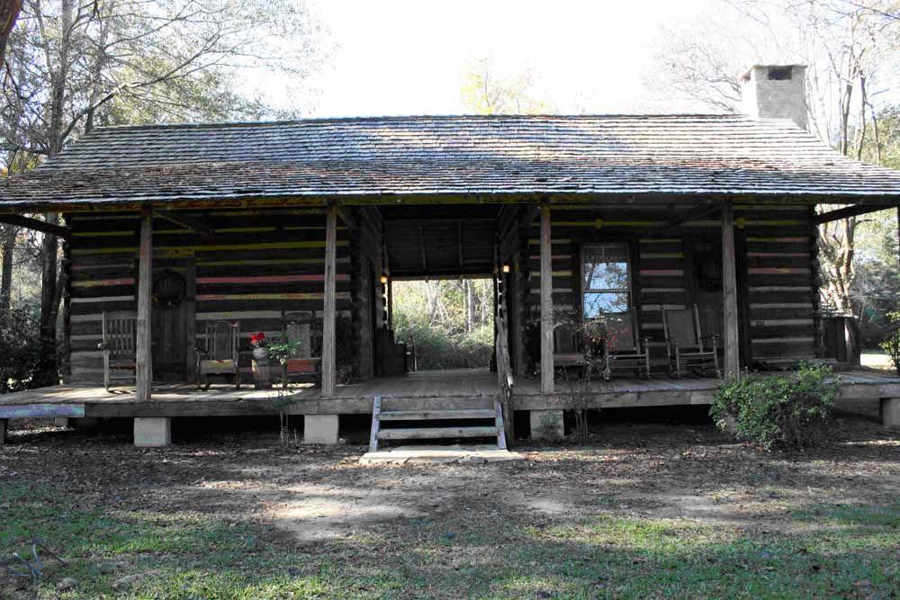 Dog Trot Log Cabin For Sale