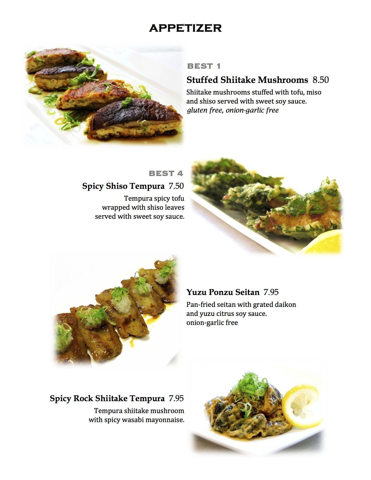 Shojin Organic Japanese Vegan Restaurant 2 Locations In