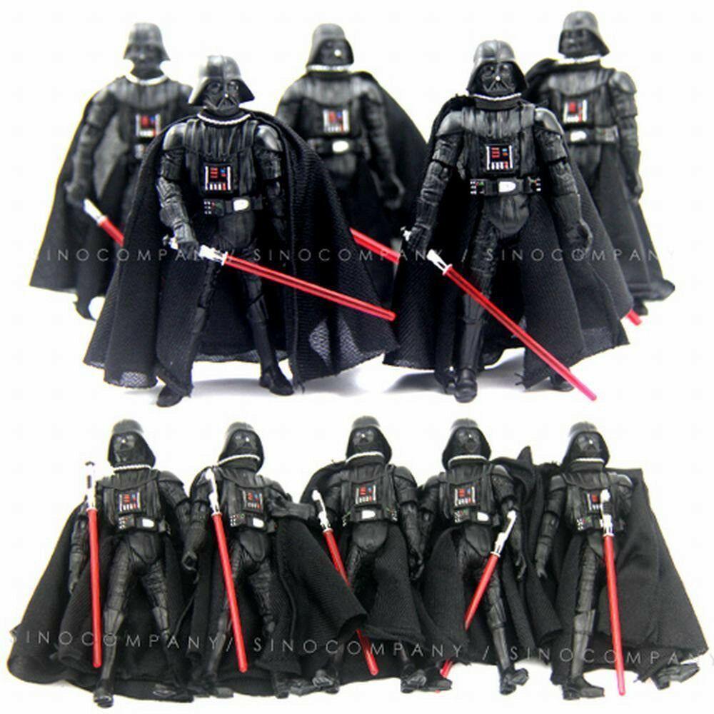 "Star Wars 2005 Darth Vader Revenge Of The Sith ROTS 3.75/"" Figure lightsaber toy"