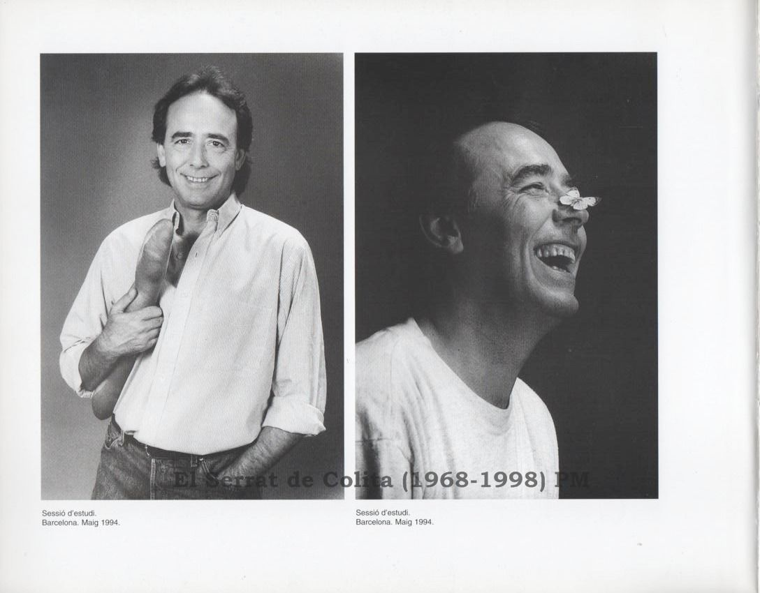 Joan Manuel Serrat visto por Colita entre 1968 y 1998, exposición en Cornellá de Llobregat (Bcn)