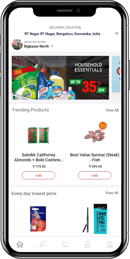 🍎Grocer | Appscrip | Shopping, Software, Delivery
