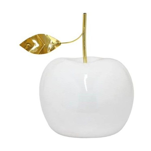 Delicieux Three Hands 74167 13 Inch Tall Apple Resin Sculpture N/A Home Decor ($80) ❤  Liked On Polyvore Featuring Home, Home Decor, Accents, Statues, Hand Scu2026