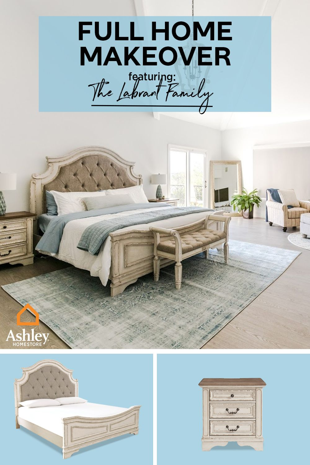 We'll take our breakfast in this bed! Creating a