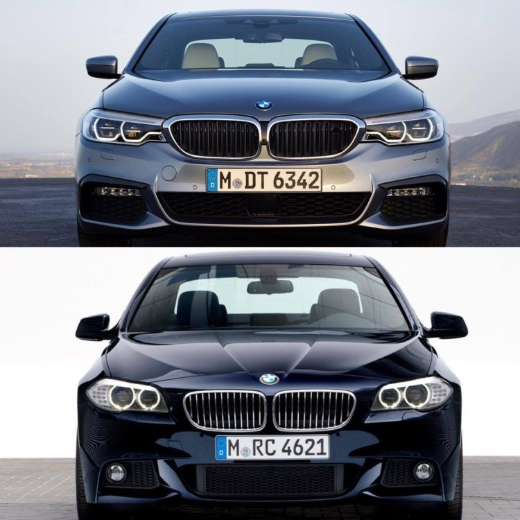 image of G30 5 Series vs F10 5 Series comparison 1 750x750 | BMW G30
