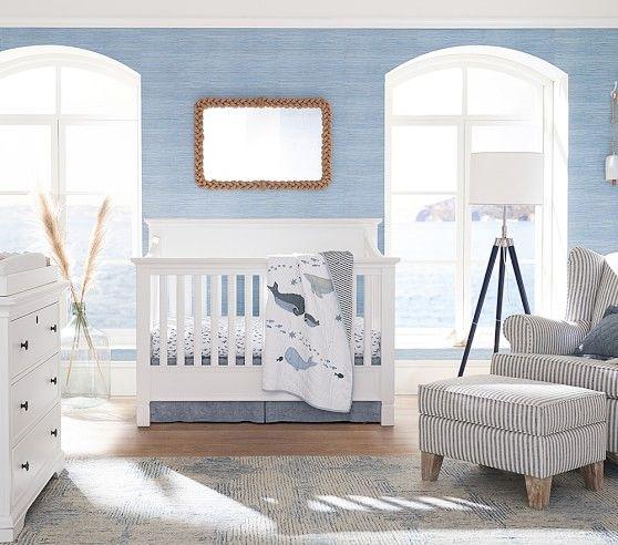 Seagrass Peel Stick Wallpaper Nursery Baby Room Baby Boy Room Nursery Baby Boy Rooms