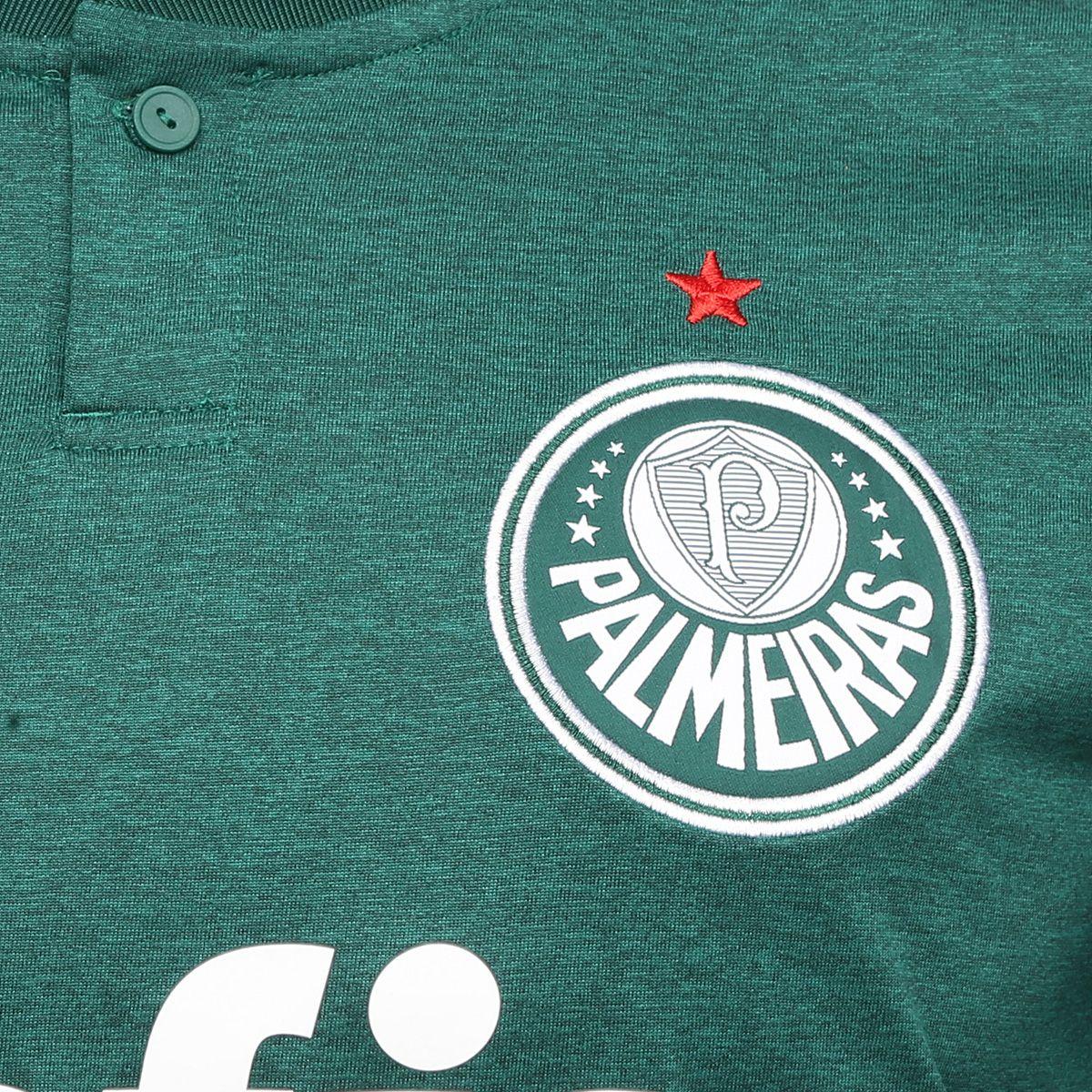 60b441d13 Camisa Palmeiras I 2018 s/n° Torcedor Adidas Masculina - Verde e ...