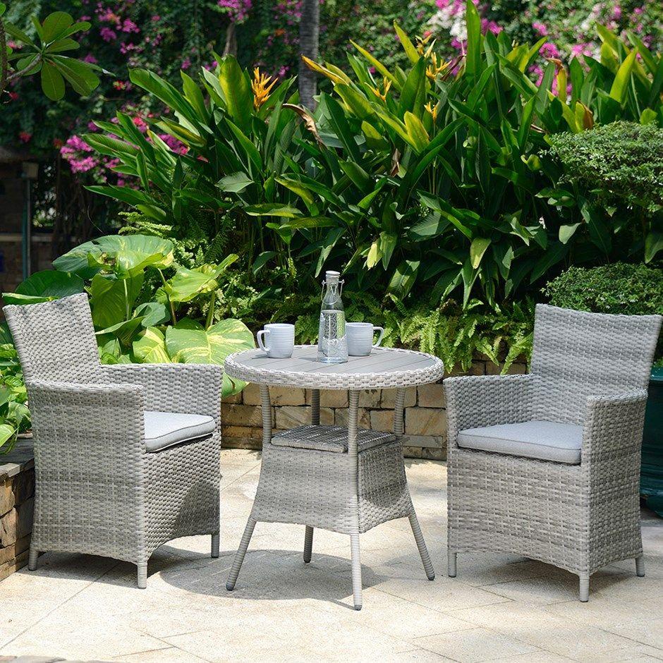 Buy Lifestyle Garden Aruba bistro set: Delivery by Waitrose Garden