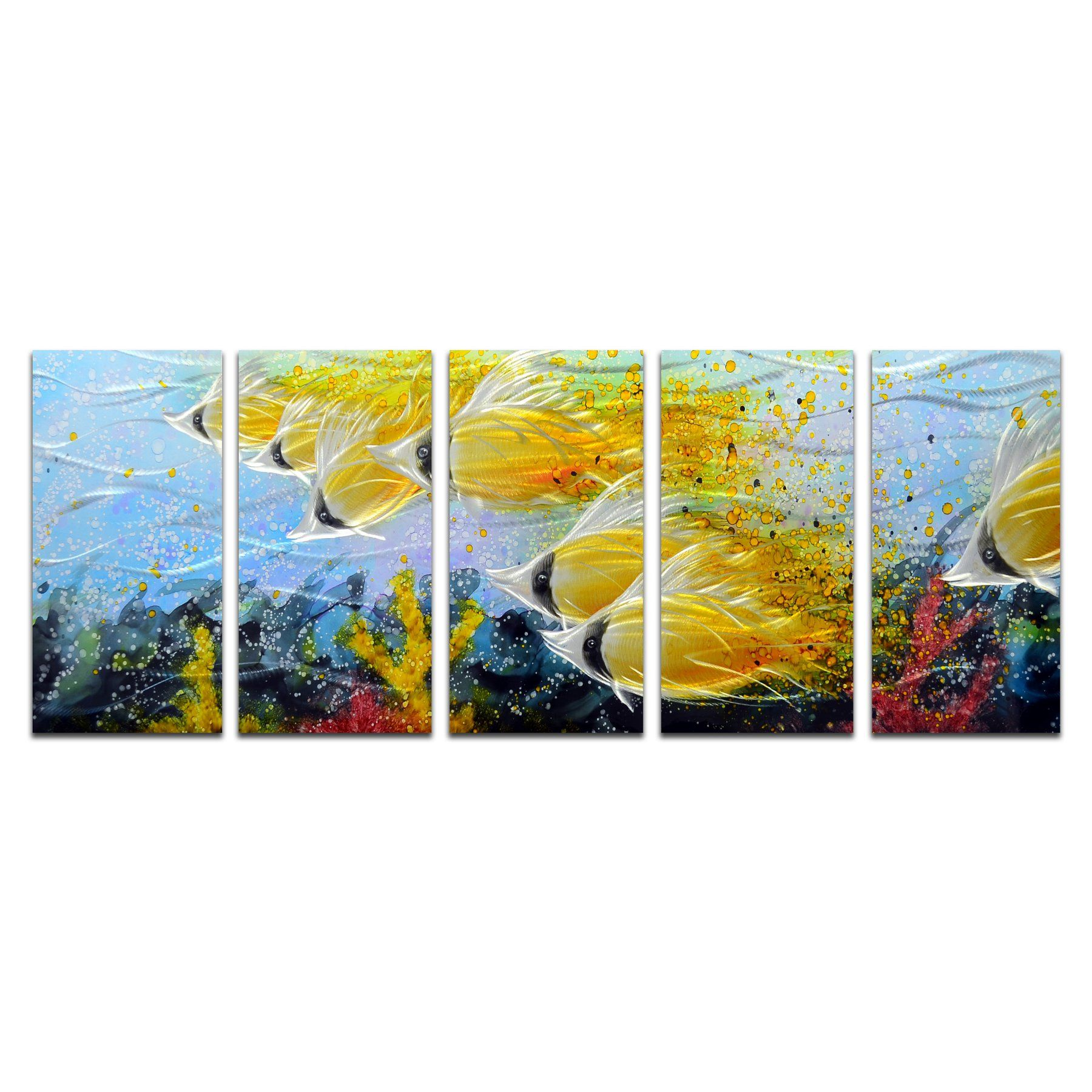 Exelent Metal Wall Art Sets Gallery - Wall Art Collections ...