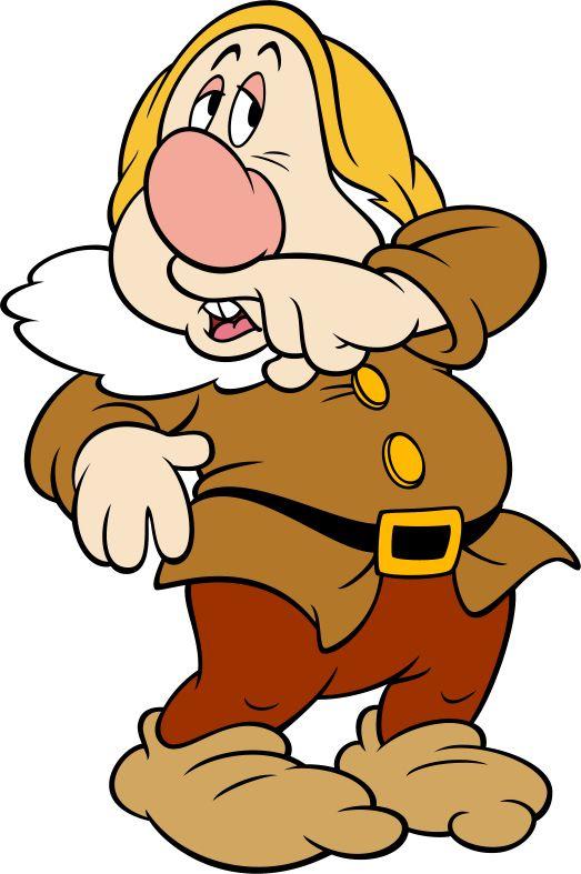 free disney snow white dwarfs clipart and disney animated gifs rh pinterest com cartoon characters clipart cartoon characters clipart images