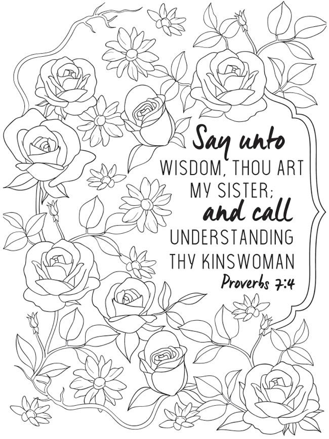 Page 2 Of 6 INSPIRING PROVERBS A Creative Haven Coloring Book By Jessica Mazurkiewicz Welcome To