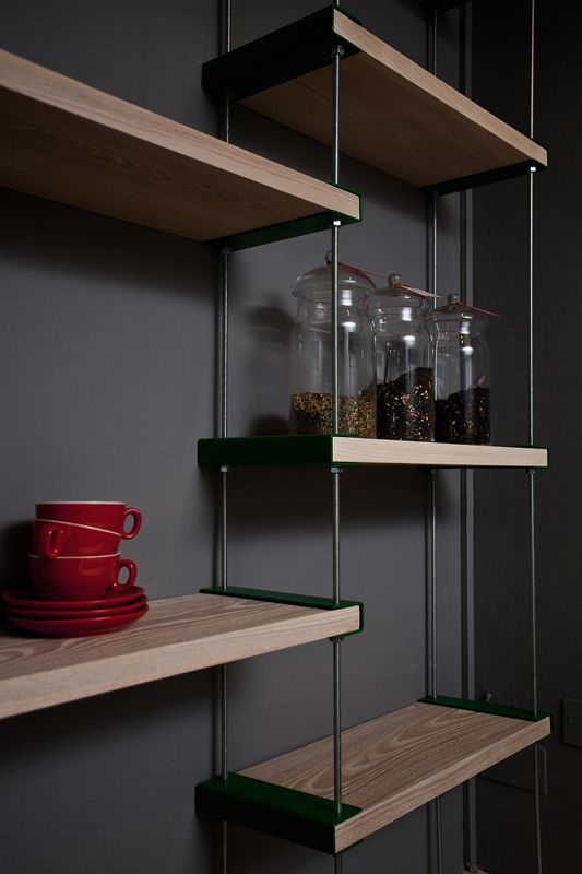 Threaded Rods Shelving