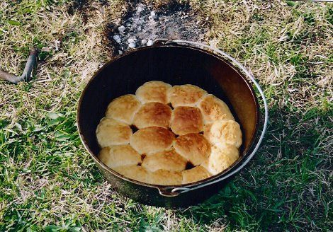 dutch oven biscuits the chuck wagon pinterest. Black Bedroom Furniture Sets. Home Design Ideas