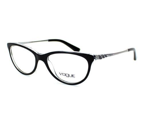 Vogue Eyeglasses frame VO 2766 W827 Metal - Acetate Black Vogue ...