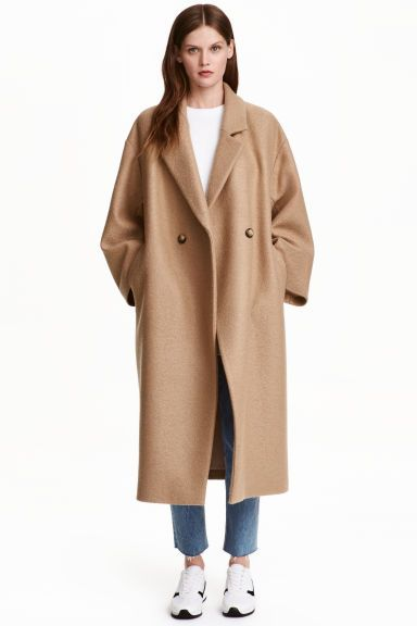 Oversized wool coat | H&M | Believe half of what you see, and none ...