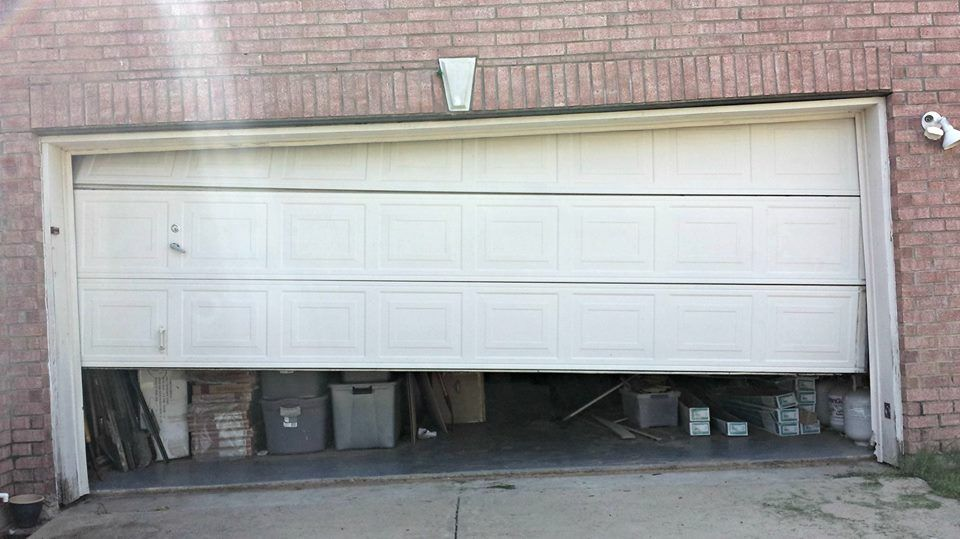 We Re Open If You Re Having Garage Door Problems Give Us A Call Garage Door Springs Home Depot Garage Doors Garage Doors