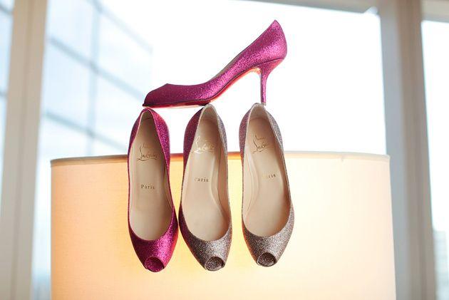Christian Louboutin Wedding Shoes - Glitter Maternas