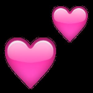 Two Hearts Artes E Oficios Coracao Rosa Papeis De Parede Em Movimento