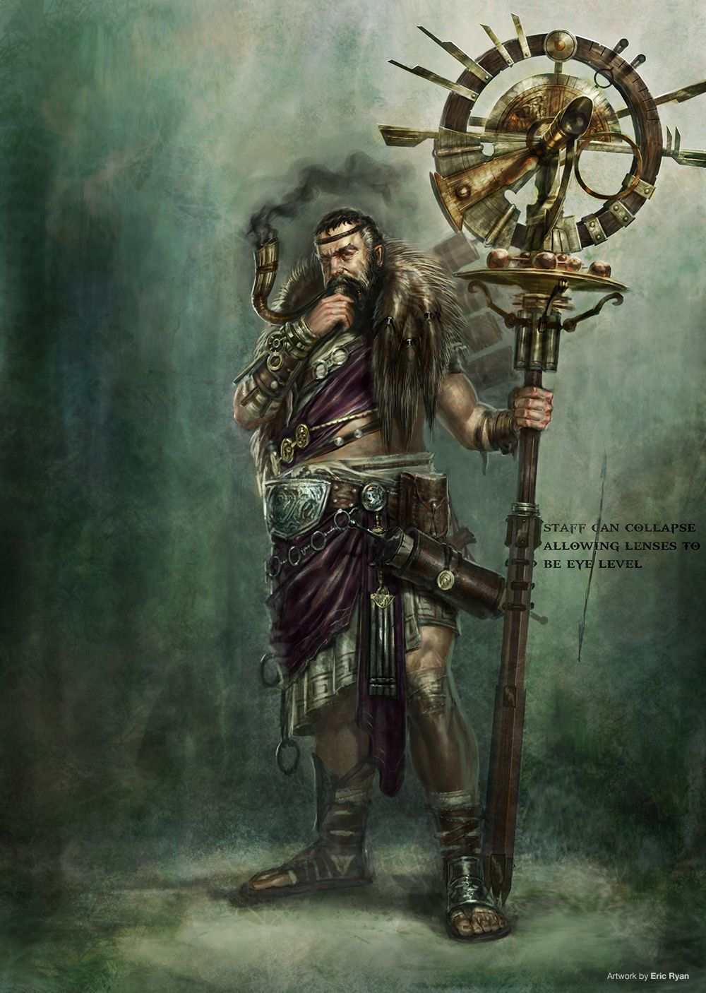 God Of War Ascension Concept Art Eric Ryan Copyright