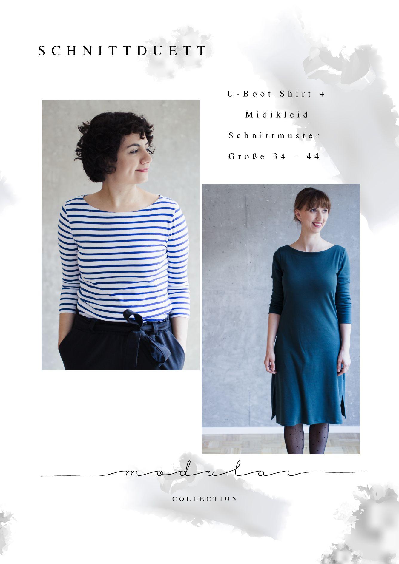 Photo of Sewing pattern turtleneck shirt and maxi dress women – …