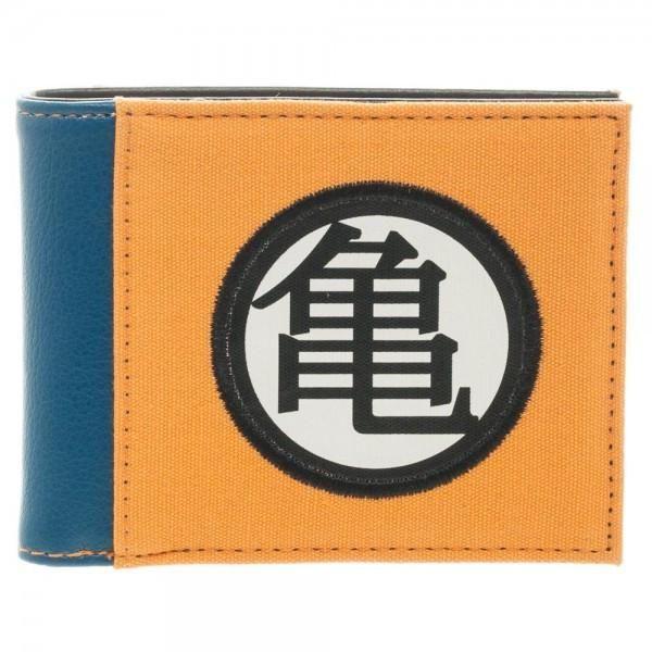 Dragon Ball Z Official Licensed Master Roshi S Kanji Icon Bi Fold Wallet Bi Fold Wallet Dragon Ball Z Dragon Ball