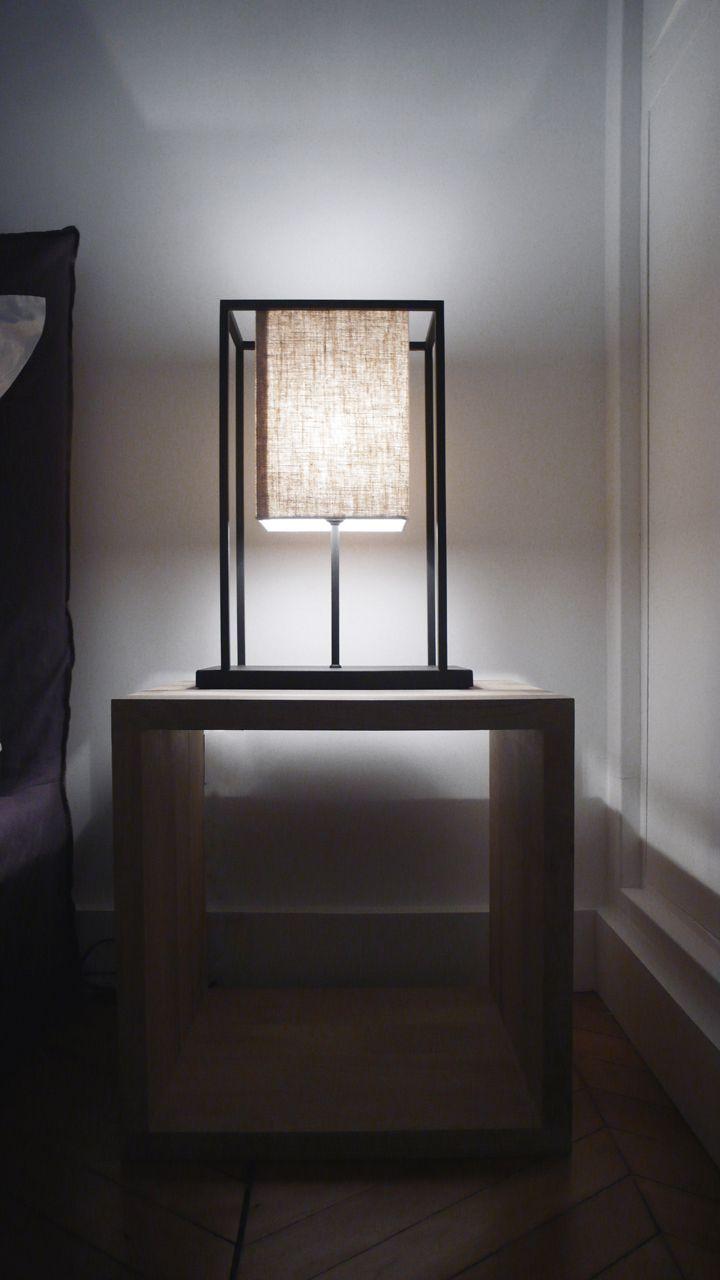 Apartment in Paris by Ardesia Design #interior #design #furniture #bedroom #skansen #table #lamp