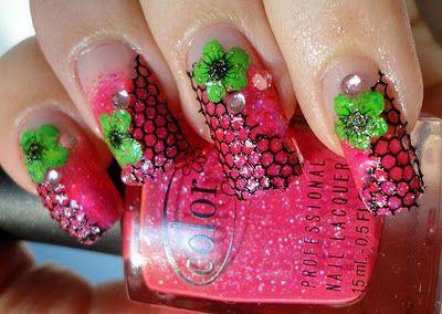 Charming Nails: Verkkokynnet
