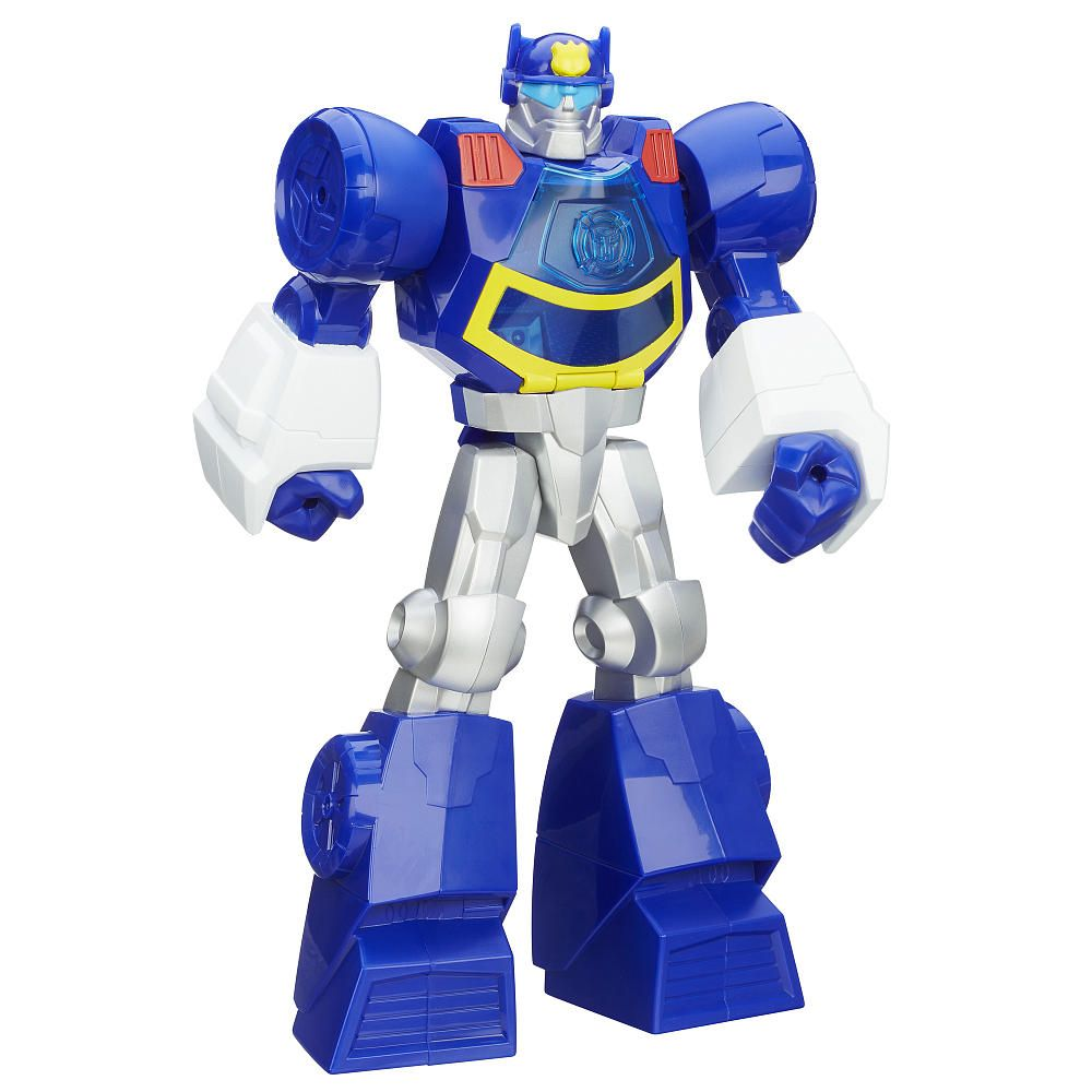 Playskool Transformers Rescue Bots Chase the Police-Bot Figure ...