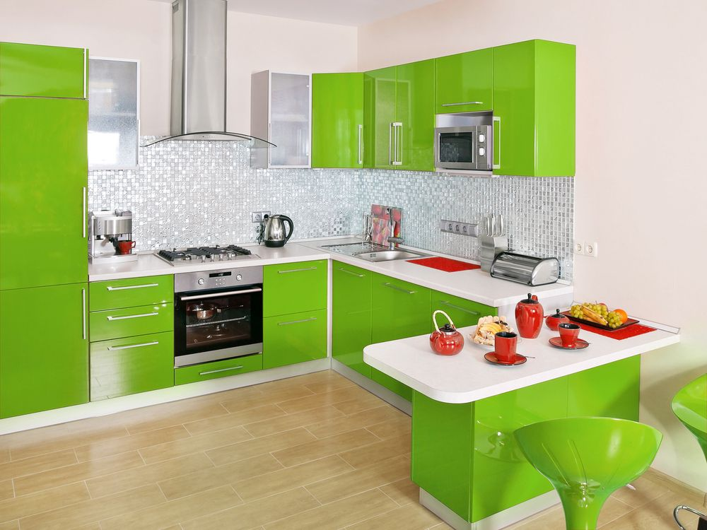 Una cocina original, alegre y colorida. | Cocinas | Pinterest ...