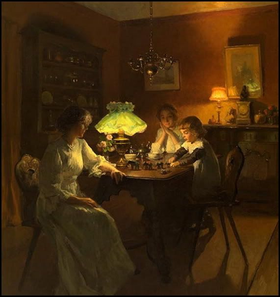 Marcel Rieder (French, 1862-1925) - The New Toy
