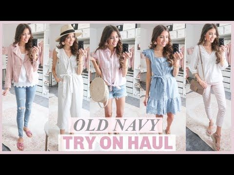 21624abc2d9 HUGE OLD NAVY TRY ON HAUL 2019