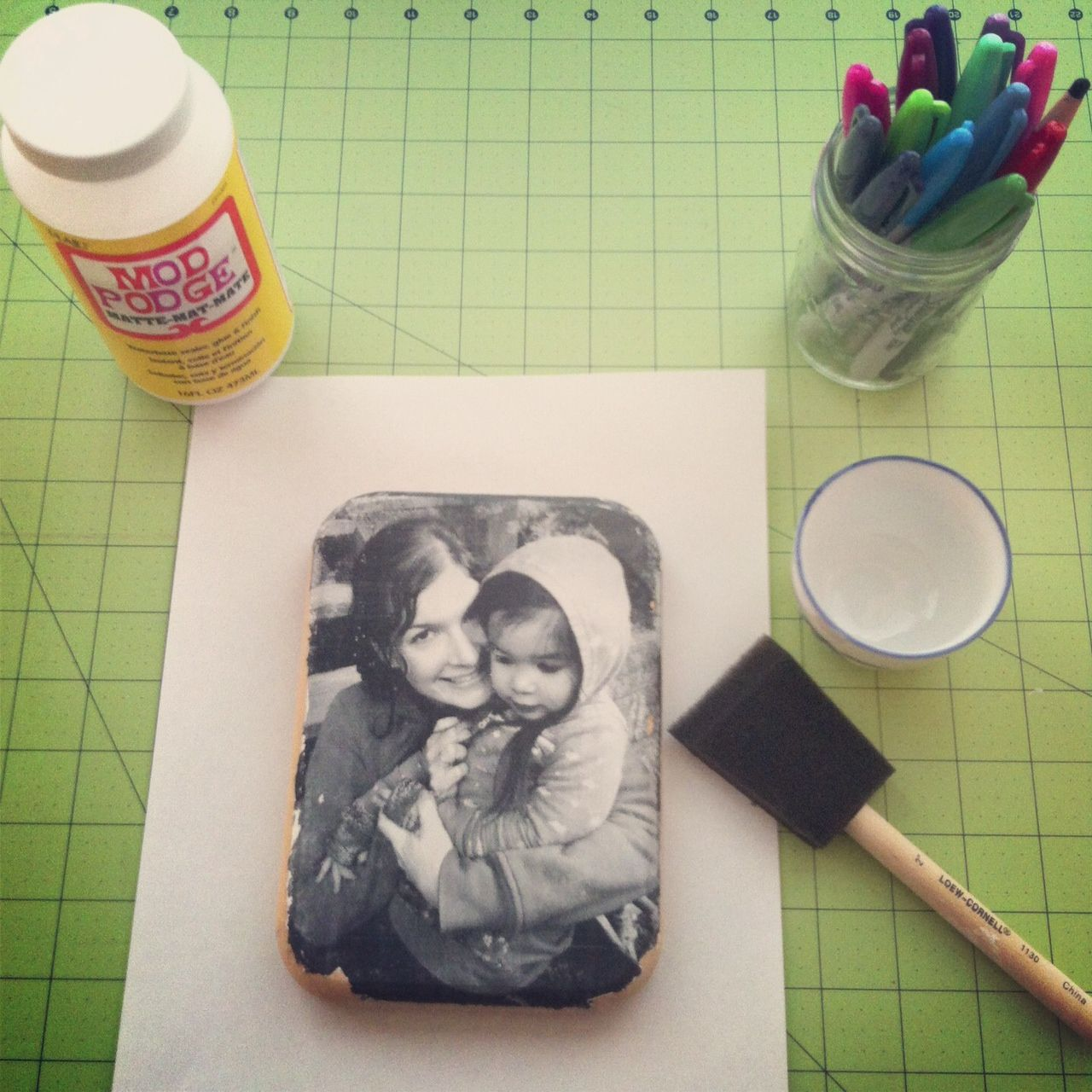 Photo To Wood Transfer Tutorial With Step By Step Photos And