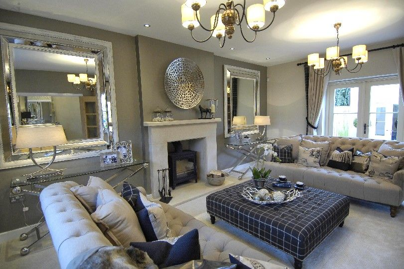 Knowle House Fortescue Fields Classy Living Room Luxury