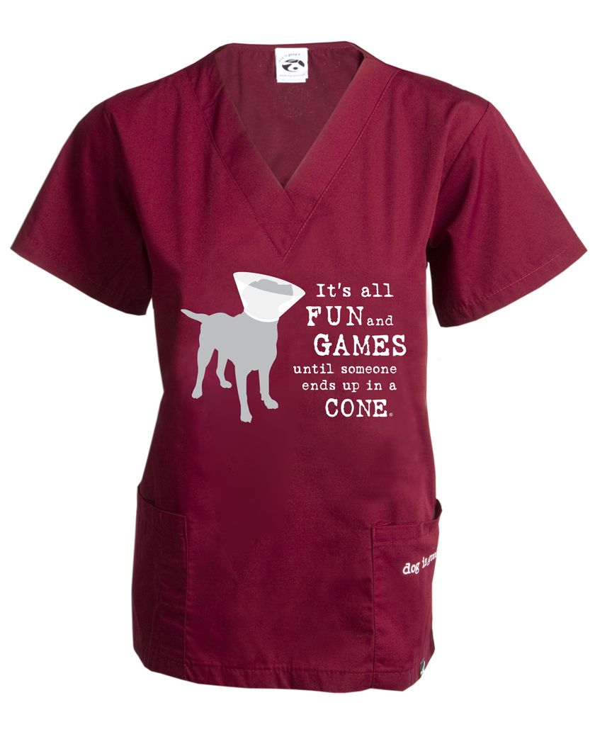 ffc6c114613 Scrub Top: A Dog Can Change the Way You See the World | WORK SCRUBS ...