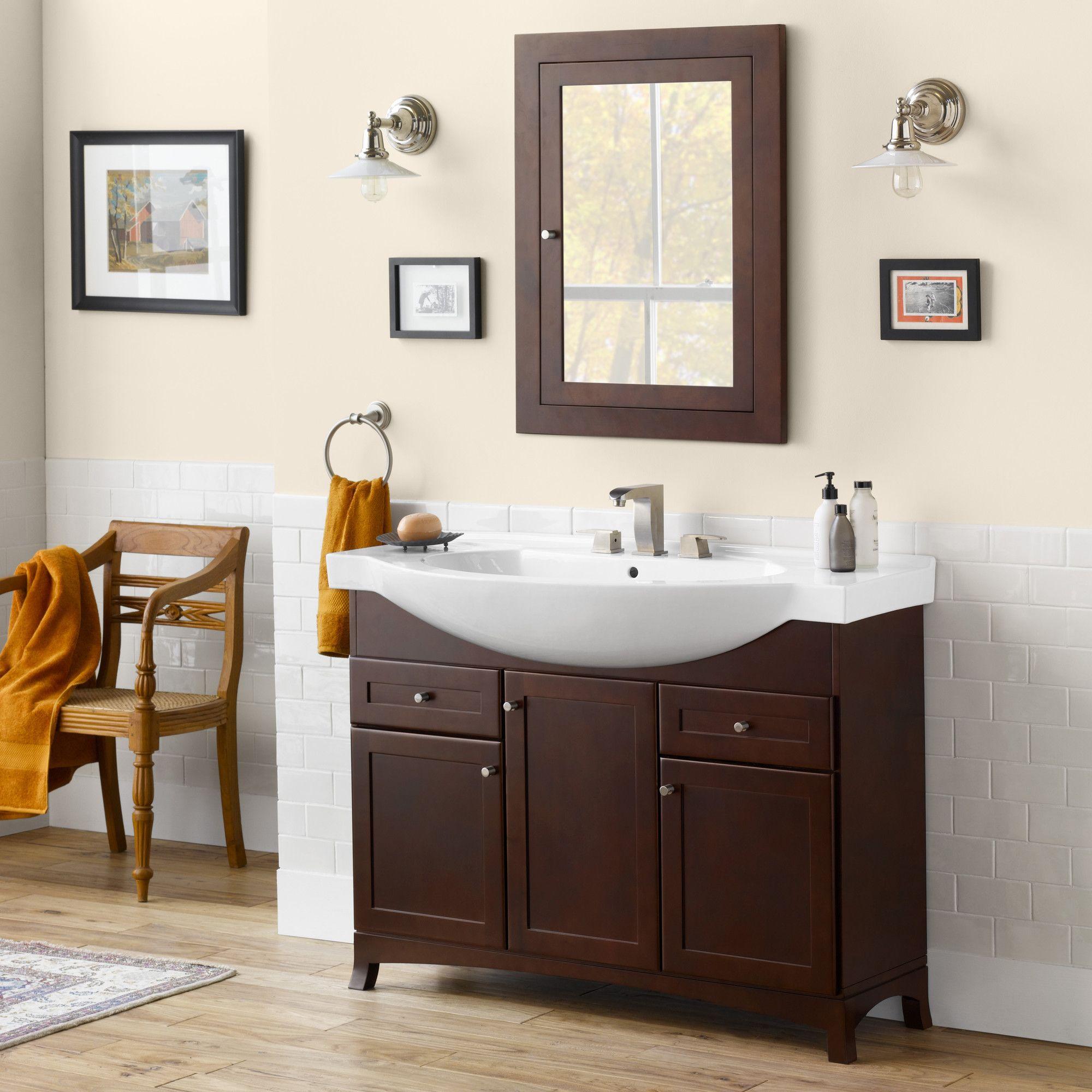 Gallery One Adara Single Space Saver Bathroom Vanity Set Wayfair
